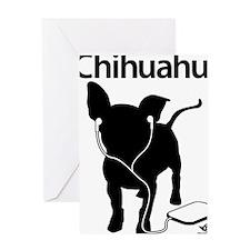 iChihuahua Greeting Card