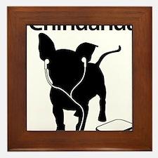 iChihuahua Framed Tile