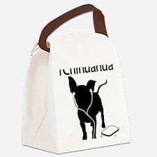 iChihuahua Canvas Lunch Bag