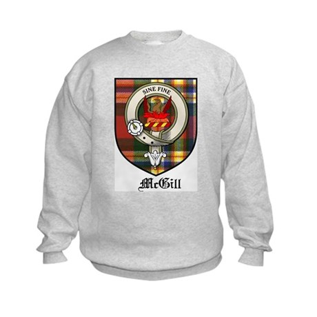 McGill Clan Crest Tartan Kids Sweatshirt