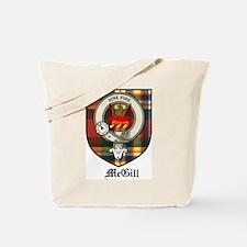 McGill Clan Crest Tartan Tote Bag