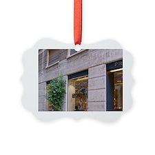 Italy, Milan, Prada storefront in Ornament