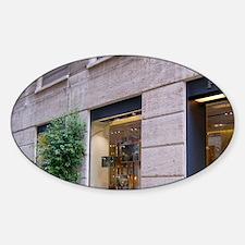 Italy, Milan, Prada storefront in F Decal