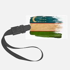 Uzbekistantex3-paint styletex3-p Luggage Tag