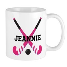 Personalized Field Hockey Mugs