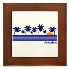 Cute Aruba Framed Tile