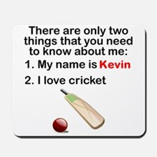 Two Things Cricket Mousepad