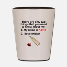 Two Things Cricket Shot Glass