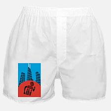 RUNCHICAGOPOSTERpng Boxer Shorts
