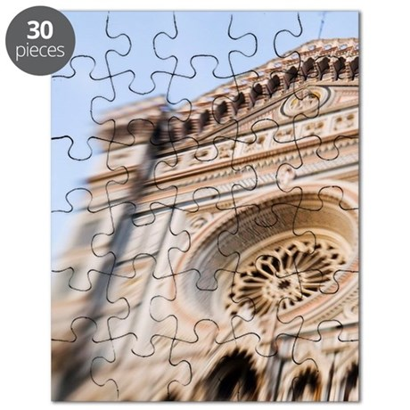 Italy, Florence, Selective Focus of the Flo Puzzle