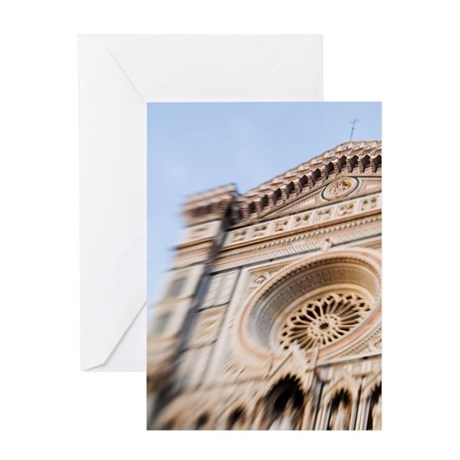 Italy, Florence, Selective Focus of Greeting Card