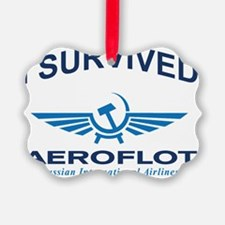 I survived aeroflot Ornament
