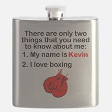Two Things Boxing Flask