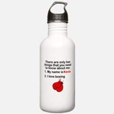 Two Things Boxing Sports Water Bottle