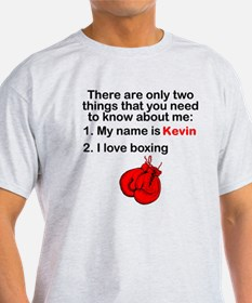 Two Things Boxing T-Shirt