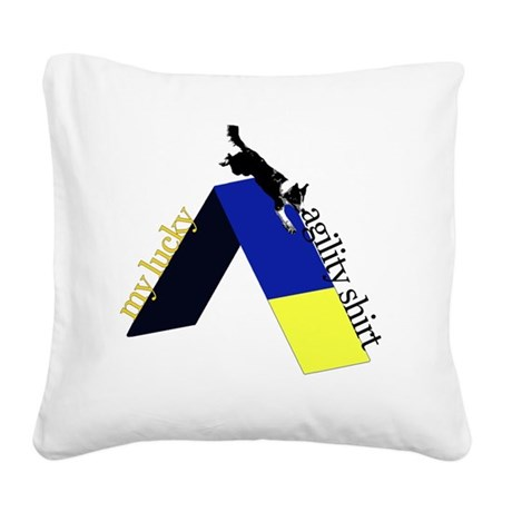 color_aframelucky Square Canvas Pillow