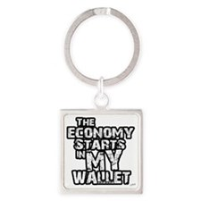 mywallet Square Keychain