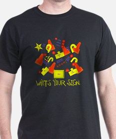 lotsofsigns3 T-Shirt