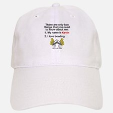 Two Things Bowling Baseball Baseball Cap