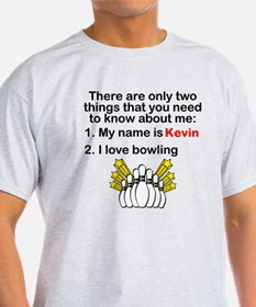 Two Things Bowling T-Shirt