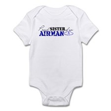 Proud Sister of an Airman Infant Bodysuit