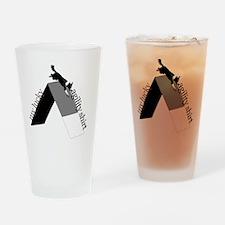 bw_aframelucky Drinking Glass