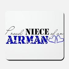 Proud Niece of an Airman Mousepad