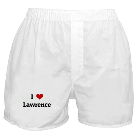 I Love Lawrence Boxer Shorts