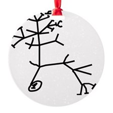 thinkingtree4cups Ornament