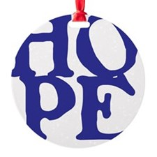 HOPE for Black T-Shirts, etc. Ornament