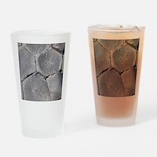 Hexagonal basalt columns, Giants Ca Drinking Glass