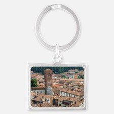 View of Lucca from Torre Guinig Landscape Keychain