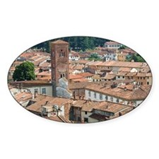 View of Lucca from Torre Guinigi, L Decal