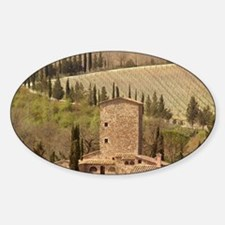 Italy, a Tuscan vineyard Decal