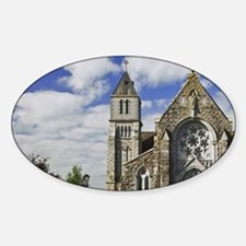 Emly. View of Saint Ailbe's Churchi Decal