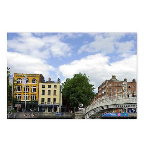 Ireland, Dublin. Ha'penny Postcards (Package of 8)
