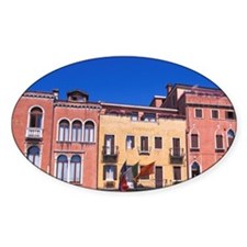 Classic colorful architecture on ca Decal