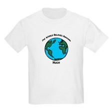 Revolves around Hugh Kids T-Shirt