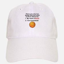 Two Things Basketball Baseball Baseball Cap