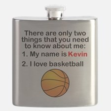 Two Things Basketball Flask