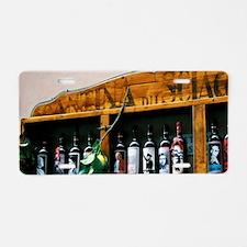 Radda. Lemoncello wine vend Aluminum License Plate