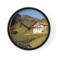 Italy, Trentino - Alto Adige, Bolzano p Wall Clock