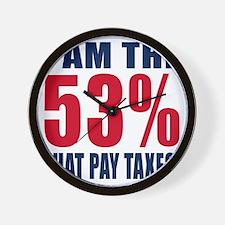53% a Wall Clock
