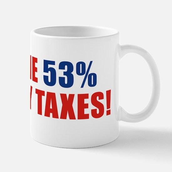53% bumpersticker a Mug