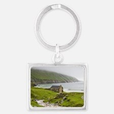 Achill Island offers remote and Landscape Keychain