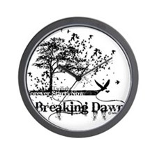 breaking dawn forever by twibaby copy Wall Clock