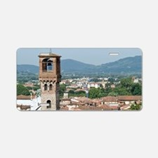 View of Lucca from Torre Gu Aluminum License Plate