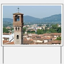 View of Lucca from Torre Guinigi, Lucca, Yard Sign