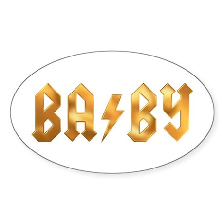 BA/BY Oval Sticker