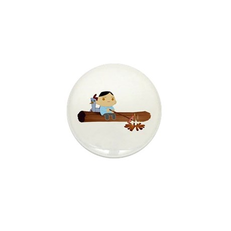 Quiet Log Time Mini Button